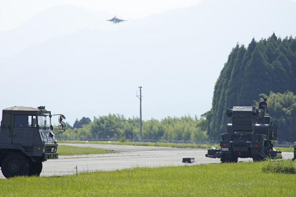 F15とアンタナ、ミサイル?