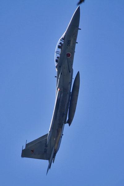 新田原基地のF-15