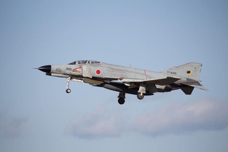 新田原基地で通常訓練中のF-4ファントム
