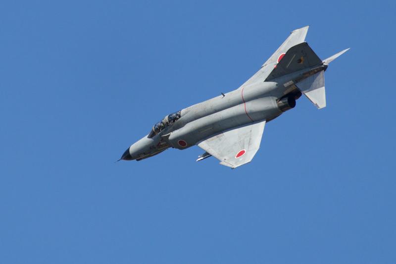 エアフェスタ本番前のf-4ファントム