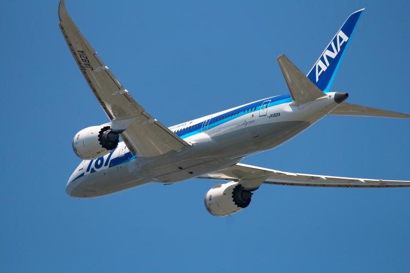 B787飛行機写真