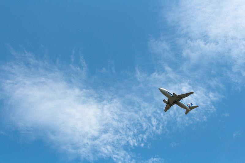宮崎空港での写真B737