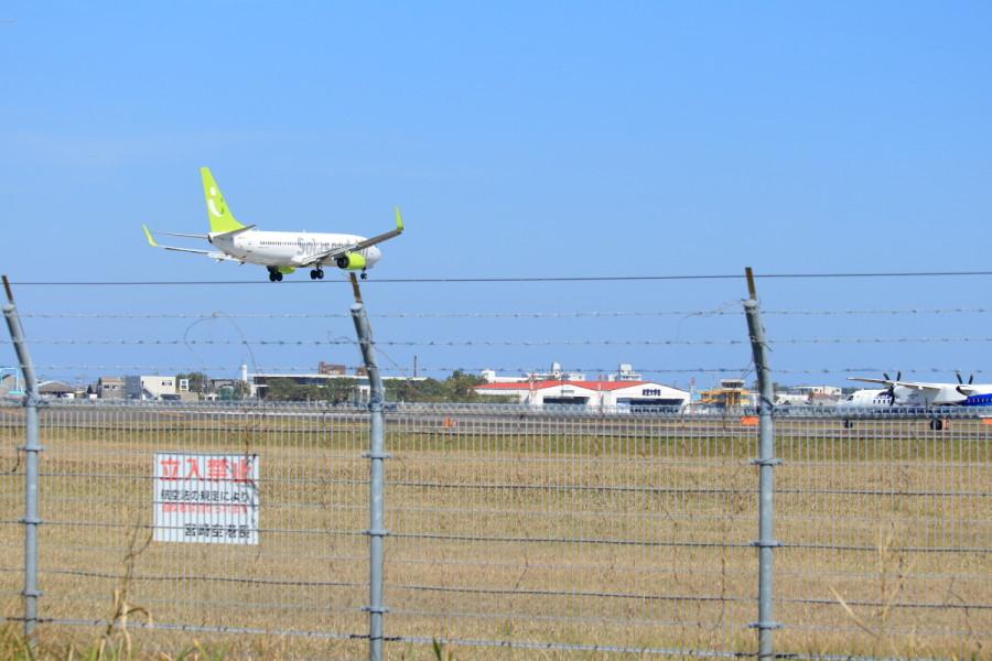 宮崎空港に着陸するソラシド機が琴線に触れてよかった。