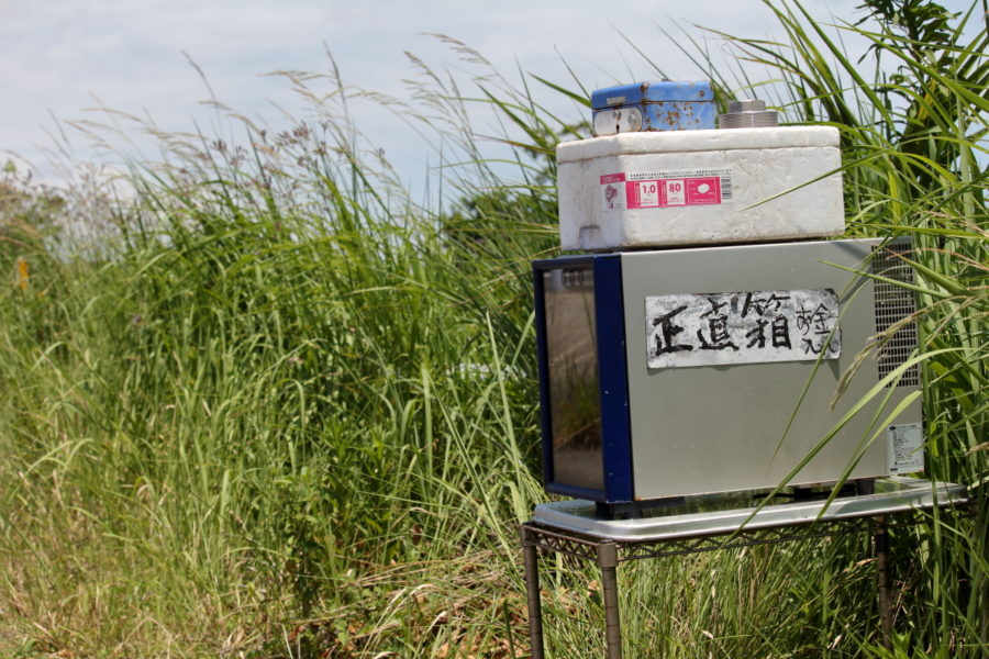 宮崎空港近くにあったボックス