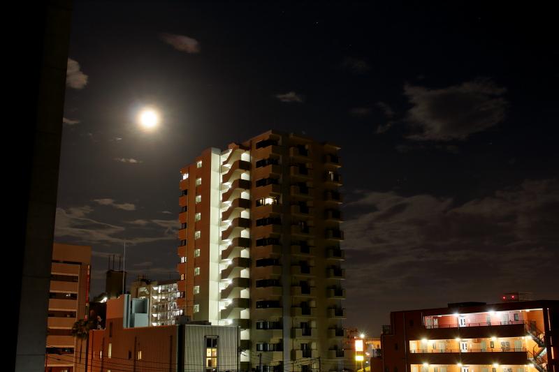 宮崎市内のいち夜景