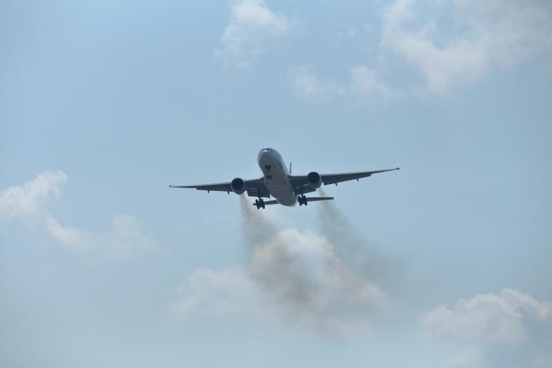 宮崎空港、ゴーアラウンドのANA機