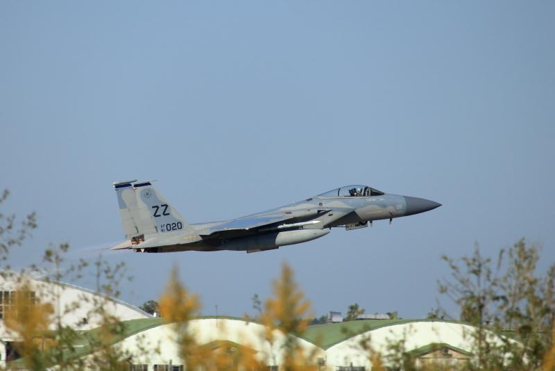新田原基地で2018日米共同訓練が始まった