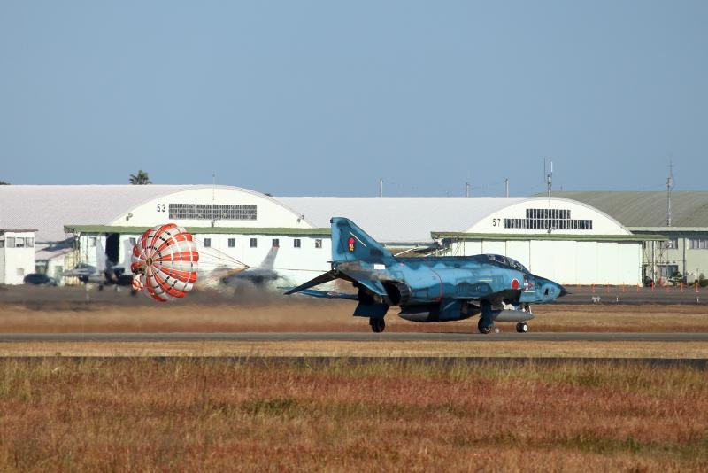 エアフェスタ2018の新田原基地にRF-4偵察飛行機がやって来た。