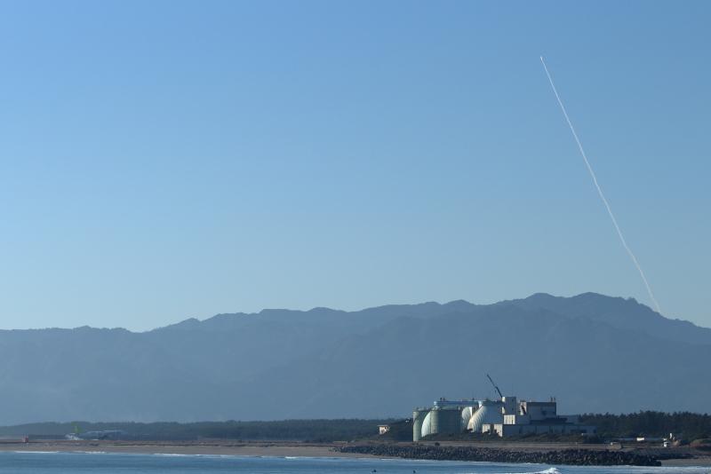 2019年1月18日イプシロン4号機の打ち上げが内之浦発射場で行われた。宮崎空港近くの河口