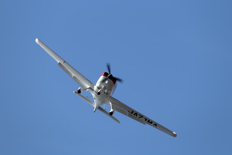 宮崎航空大学校に導入される予定のシーラス22型訓練機