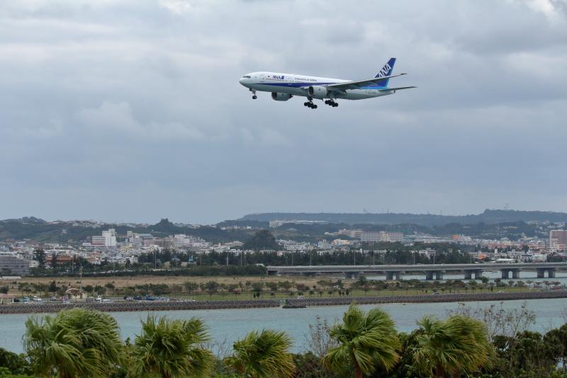 宮崎から初めての沖縄県那覇空港へ行った。釣りで言えば飛行機の入食い状態だ。宮崎空港と比べたら離発着の多さにビックリ