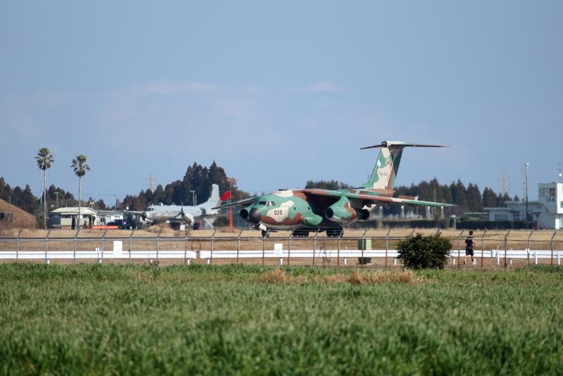 新田原基地で久しぶりに見たc-1にys-11たちの飛行機